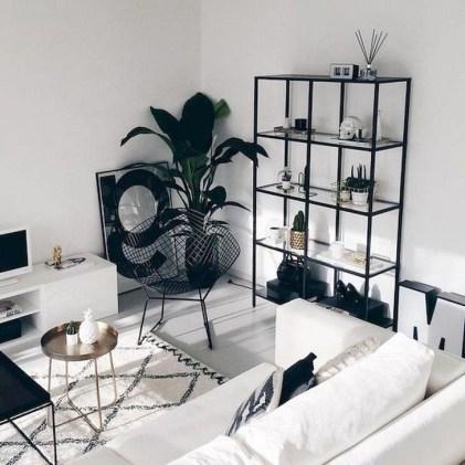 Cozy Black And White Living Room Design Ideas 20