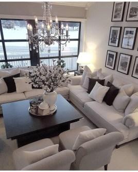 Cozy Black And White Living Room Design Ideas 38