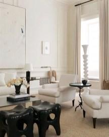 Cozy Black And White Living Room Design Ideas 44