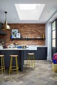 Elegant Navy Kitchen Cabinets For Decorating Your Kitchen 10