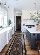 Elegant Navy Kitchen Cabinets For Decorating Your Kitchen 34