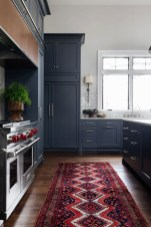 Elegant Navy Kitchen Cabinets For Decorating Your Kitchen 35