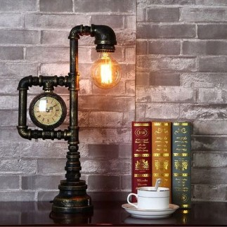 Fascinating Industrial Pipe Lamp For Home 11