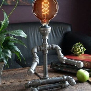 Fascinating Industrial Pipe Lamp For Home 15