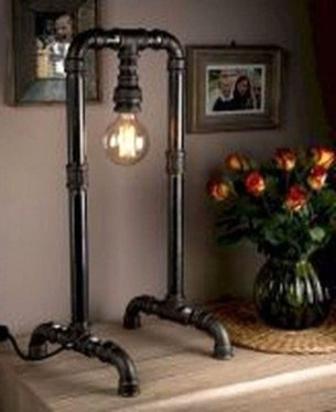 Fascinating Industrial Pipe Lamp For Home 34