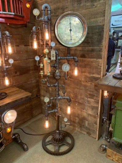 Fascinating Industrial Pipe Lamp For Home 44