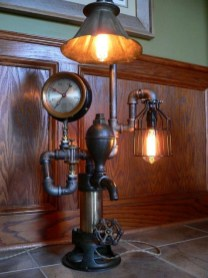 Fascinating Industrial Pipe Lamp For Home 47