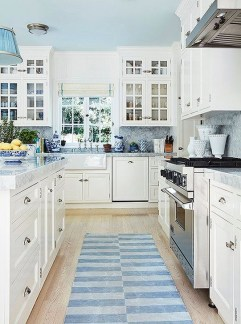 Inspiring Blue And White Kitchen Ideas To Love 05