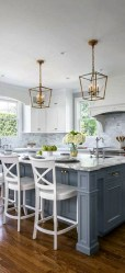 Inspiring Blue And White Kitchen Ideas To Love 34