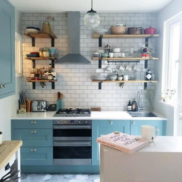 Inspiring Blue And White Kitchen Ideas To Love 39