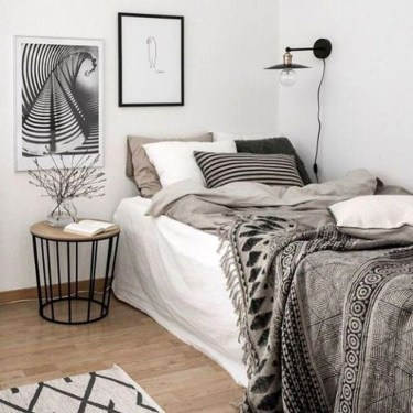 Modern Style For Industrial Bedroom Design Ideas 06