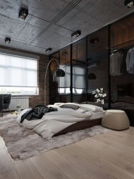 Modern Style For Industrial Bedroom Design Ideas 30