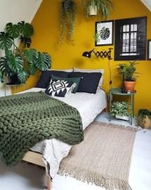 Natural Green Bedroom Design Ideas 03