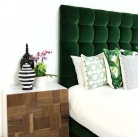 Natural Green Bedroom Design Ideas 12