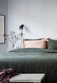 Natural Green Bedroom Design Ideas 32