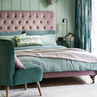 Natural Green Bedroom Design Ideas 34