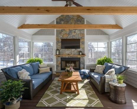 Popular Sun Room Design Ideas For Relaxing Room 35
