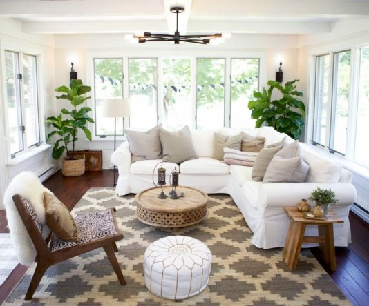 Popular Sun Room Design Ideas For Relaxing Room 43