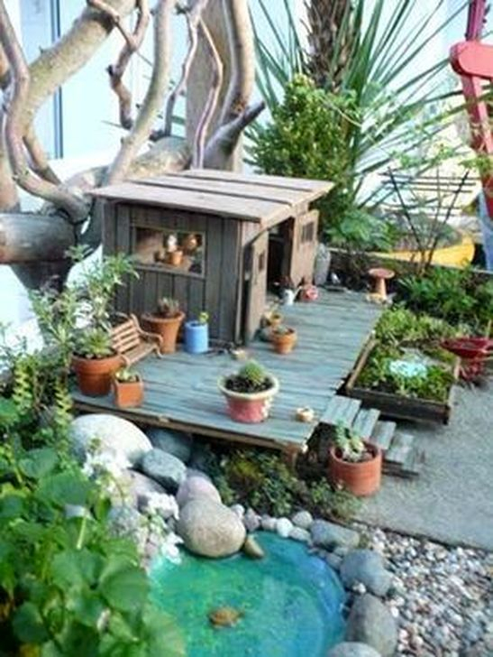 Pretty Fairy Garden Plants Ideas For Around Your Side Home 20