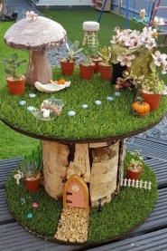Pretty Fairy Garden Plants Ideas For Around Your Side Home 24