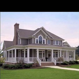 Awesome Farmhouse Home Exterior Design Ideas 37