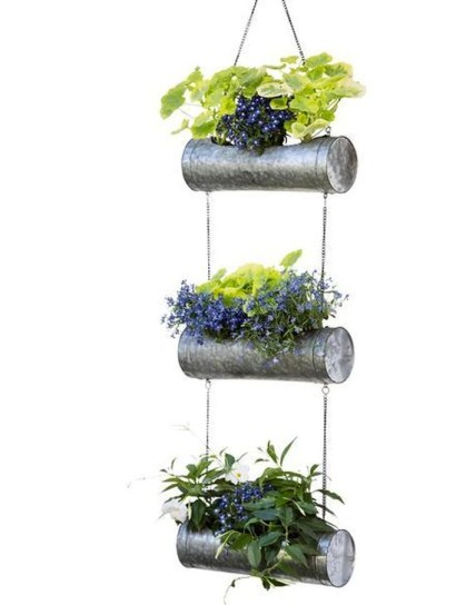 Beautiful Hanging Planter Ideas For Outdoor 16