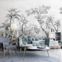 Best Ideas Of Tropical Wall Mural For Summer 04