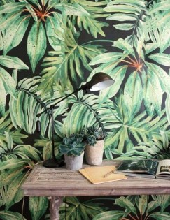 Best Ideas Of Tropical Wall Mural For Summer 28