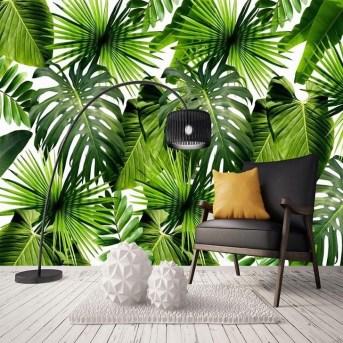Best Ideas Of Tropical Wall Mural For Summer 34