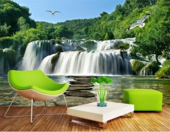 Best Ideas Of Tropical Wall Mural For Summer 35