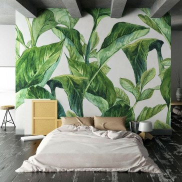 Best Ideas Of Tropical Wall Mural For Summer 38