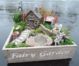 Brilliant DIY Fairy Garden Design Ideas 01
