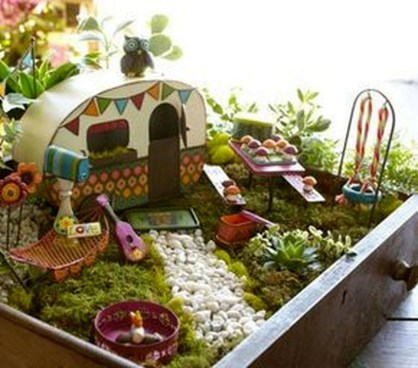 Brilliant DIY Fairy Garden Design Ideas 15