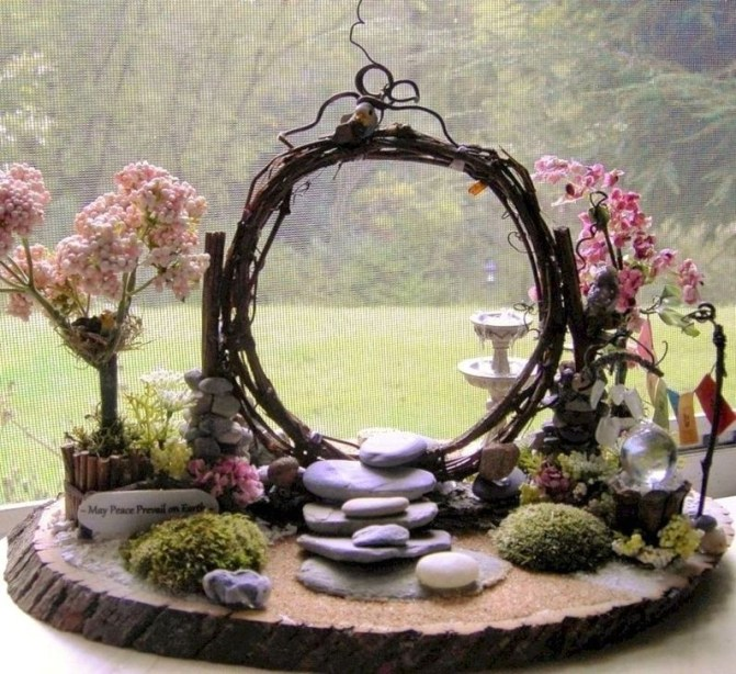 Brilliant DIY Fairy Garden Design Ideas 43