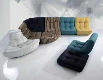 Comfy Colorful Sofa Ideas For Living Room Design 05
