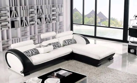 Comfy Colorful Sofa Ideas For Living Room Design 19