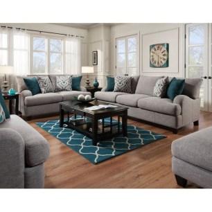 Comfy Colorful Sofa Ideas For Living Room Design 35