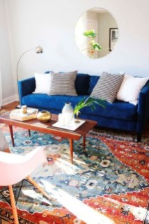 Comfy Colorful Sofa Ideas For Living Room Design 44