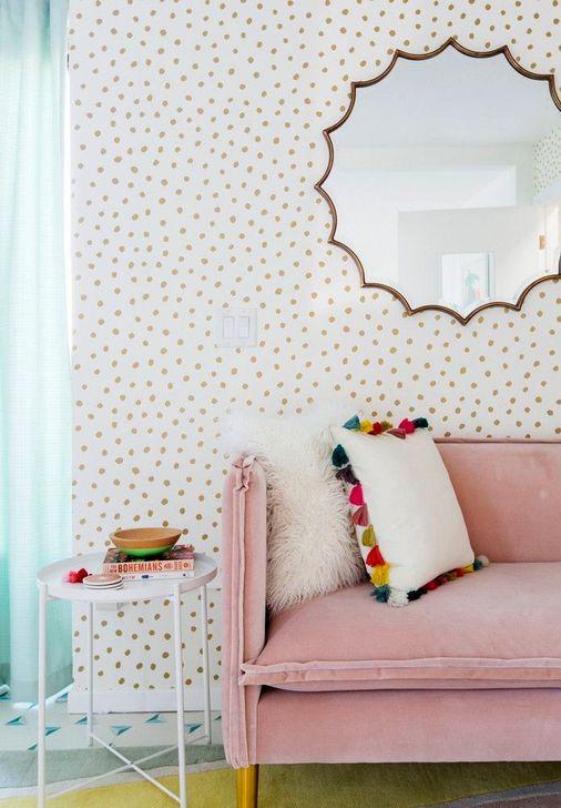Comfy Colorful Sofa Ideas For Living Room Design 46