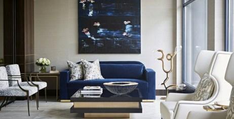Comfy Colorful Sofa Ideas For Living Room Design 49