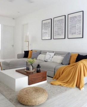 Comfy Colorful Sofa Ideas For Living Room Design 56