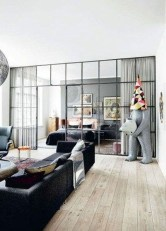 Cool Partition Living Room Ideas 22