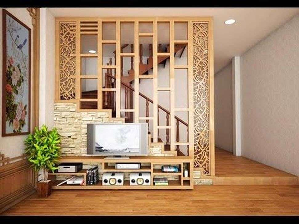 HOMYSTYLE & 57 Cool Partition Living Room Ideas - HOMYSTYLE