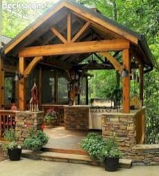 Cozy Outdoor Kitchen Design Ideas 08