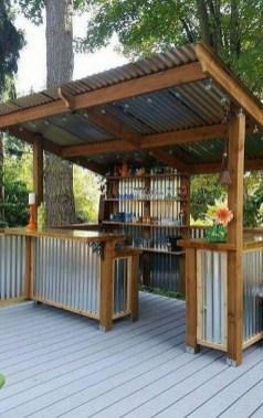 Cozy Outdoor Kitchen Design Ideas 44