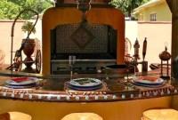 Cozy Outdoor Kitchen Design Ideas 45