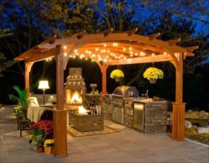 Cozy Outdoor Kitchen Design Ideas 53