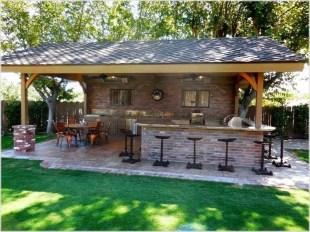 Cozy Outdoor Kitchen Design Ideas 54