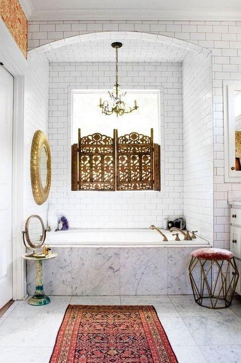 Cute Shabby Chic Bathroom Design Ideas 02