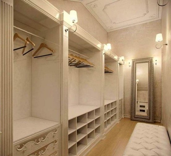53 Elegant Closet Design Ideas For Your Home - HOMYSTYLE